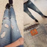 Стильные женские джинсы Бойфренд 01030.
