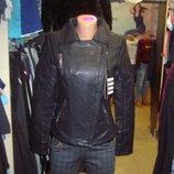 Куртка косуха женская кожзам Lanmas модная норма размер S-2XL