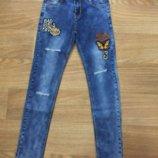 джинса для девочек от фирмы Seagull. 6-16 лет