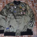 куртка бомбер женский М-Ка Сток в отл сост большой выбор одежды 1-16лет