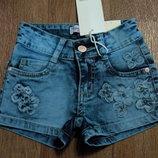 Стильные джинсовые шорты для девочек