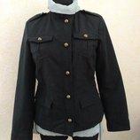 Черный пиджак-френч, р.S, Vega Moda, Польша