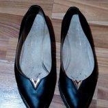 Красивые Туфли-Балетки Натуральная Кожа