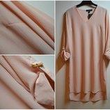 Новая удлиненная стильная блуза