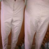 стильні рожеві джинси скінні р48/50 F&F