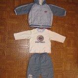 Спортивный костюм 3-ка с регланом 74-80 р-р дешево