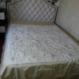 Покрывало бежевое на двухспальную кровать