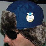 Спортивная олимпийская зимняя шапочка шапка Бельгия .P&G.л-хл