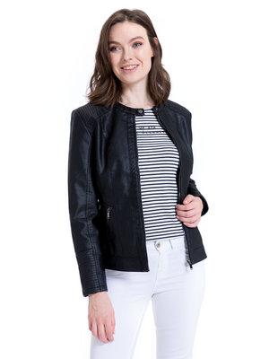 Куртка женская новая кожаная демисезонная S M L XL XXL 3XL 4XL 44 46 48 50 52 54 56