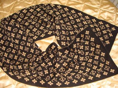 шарф Louis Vuitton двухсторонний шерсть идеал платок Gucci Burberry