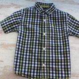 Стильная шведка рубашка Rebel на 4-5 лет размер 110