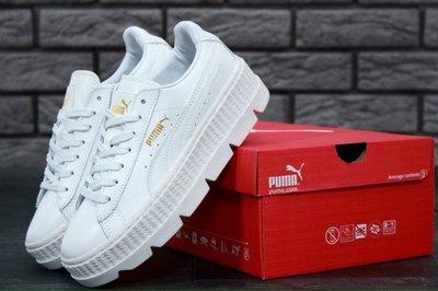 Женские кроссовки Rihanna x Puma Fenty Cleated Creeper White. Previous Next 8685222c8b85c