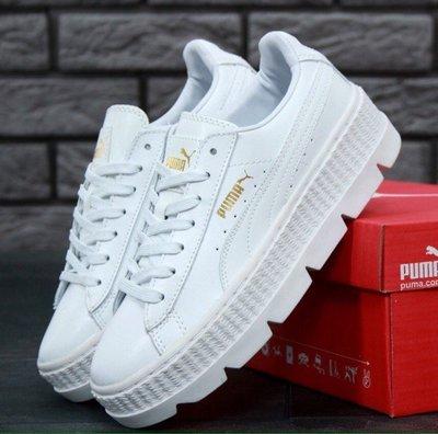 Женские кроссовки Rihanna x Puma Fenty Cleated Creeper White   1250 ... ca7070b23ee6a