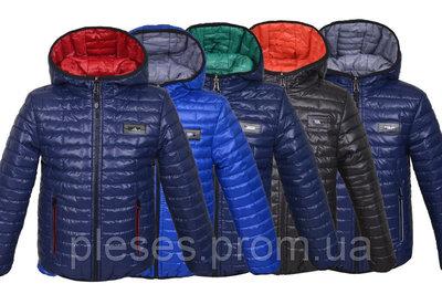 двухсторонняя куртка демисезонная«Спорт».