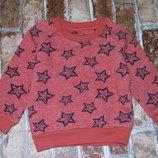 кофта свитшот мальчику 1 - 2 года начос 18-24 мес Ребел большой выбор одежды 1-16лет