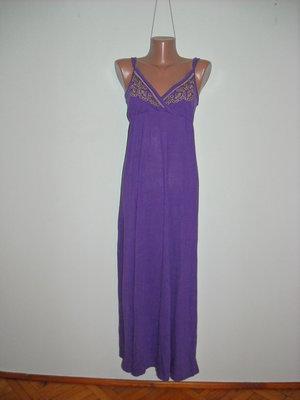 a421bcbcbc263a0 Платье George фиолетовое с вышивкой золотой ниткой: 120 грн ...
