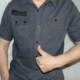 Льняная брендовая стильная рубашка шведка F&F.л .