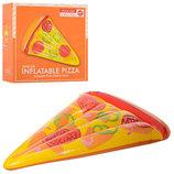 Надувной пляжный матрас пицца 25568 размер 188х130см, нагрузка до 80кг