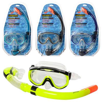 Набор для плавания маска с трубкой Seals 25641 4 цвета
