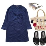 Удлиненная блуза/платье от Elen Amber