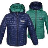 Демисезонные двухсторонние куртки для мальчиков от 3 до 15 лет