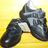 Кожаные детские кроссовки - туфли Kellaifeng на мальчика 26-31 размеры