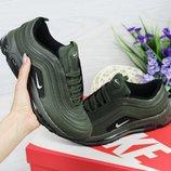 Кроссовки женские Nike Air Max 97 dark green