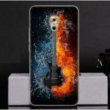 Чехол-Накладка TPU Image Guitar для Meizu Pro 6 Plus