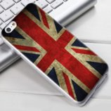 Чехол-Накладка TPU Image British flag для iPhone 5/5S/5SE