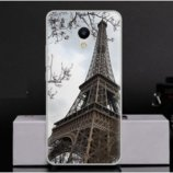 Чехол-Накладка TPU Image Paris для Meizu M5s