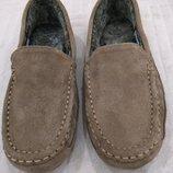 Продам новые,фирменные M&S,замшевые мокасины,туфли,Эспадрильи,9 р.