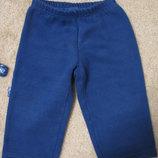 Теплые штаны на флисе Smil 9-12 мес
