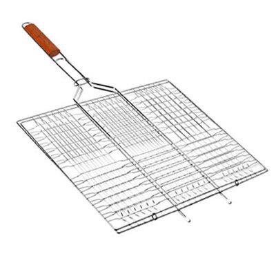 Решетка-Гриль плоская большая 66 45 26см MH-0164