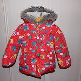 Куртка еврозима Mothercare 2-3года.