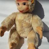 Винтажная обезьянка игрушка