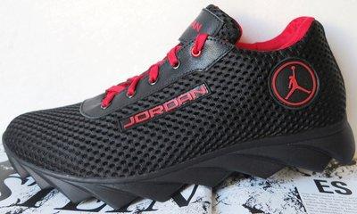 Jordan летние черные мужские спортивные кроссовки сетка кожа