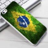 Чехол-Накладка TPU Image Brazil для iPhone 6/6S