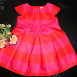 красивенное нарядное платье Jasper Conran 9-12 мес отл.состояние