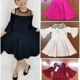 В наличии Хорошие платья на девочек 3-12 лет Турция