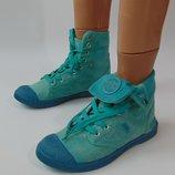 Текстильные ботинки-кеды 39 р destroy испания сток