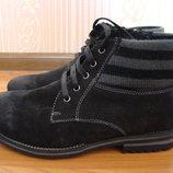 Новые зимние кожаные ботинки respect.оригинал. размер 40