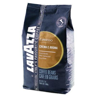 Lavazza Crema E Aroma 1 кг Кофе в зернах Лавацца крема лаваца синяя
