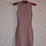 Нежное кружевное платье миди Asos