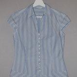 Красивая блуза от Marks & Spencer в бело-голубую полоску