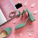 Босоножки из натуральной кожи на удобном каблуке Новинка Производитель Украина