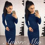 Женское платье Рондо ангора размеры с 42 по 54
