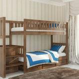 Двухъярусные кровати от производителя Венгер
