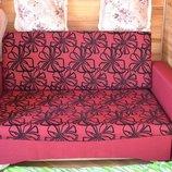 диван-кровать Малютка В Цветы