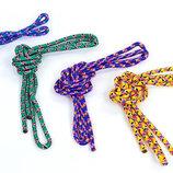Скакалка для художественной гимнастики радуга 04LS-98 длина 3м, диаметр 9мм 4 цвета