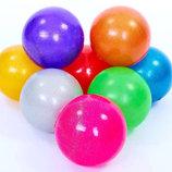 Мяч для художественной гимнастики блестящий галактика 6273 15см, 8 цветов